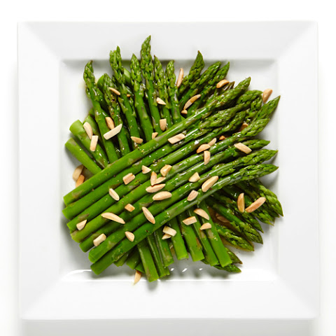 Honey Dijon Asparagus and Almonds