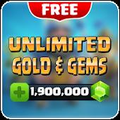 Download Gems Clash Royale PRANK APK to PC