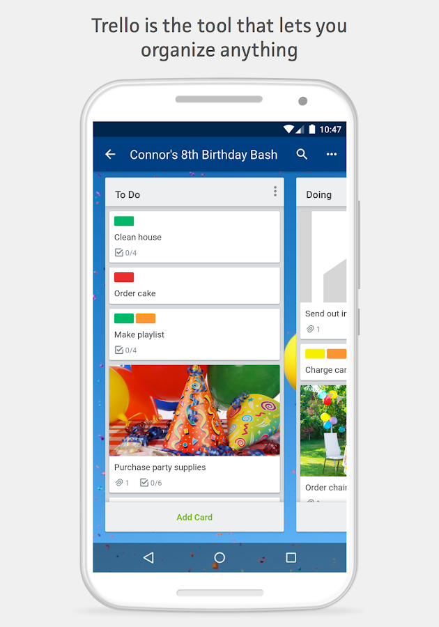Trello Screenshot 0