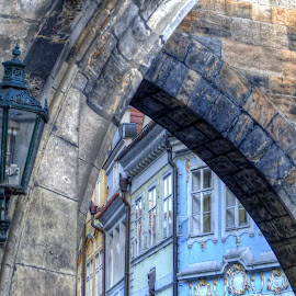 From Prague by Renata Zemanová - Buildings & Architecture Architectural Detail ( lamp, windows, prague )