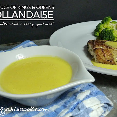 Never Fail Hollandaise – Low Carb Keto | Gluten Free | Egg Fast Magic