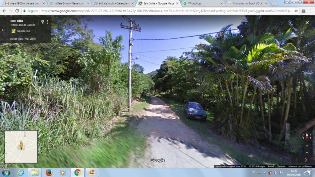 Lote/Terreno em Várzea das Moças  -  Niterói - RJ