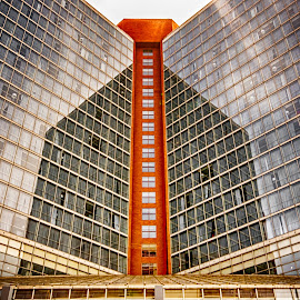 Hotel by Richard Michael Lingo - Buildings & Architecture Office Buildings & Hotels ( westin hotel, cincinnati, hotel, building, architecture )