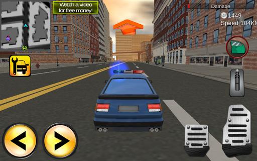 Police Driver vs Terrorist - screenshot