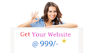 Get your all Website Designed and Developed INR 999/-