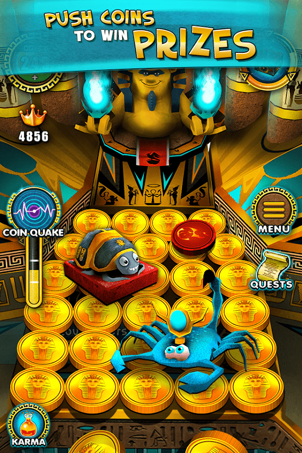Pharaoh's Party: Coin Pusher Screenshot 0