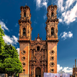 Cathedral Taxco by Stanley P. - Buildings & Architecture Other Exteriors ( exterior, cathedral, architecture )