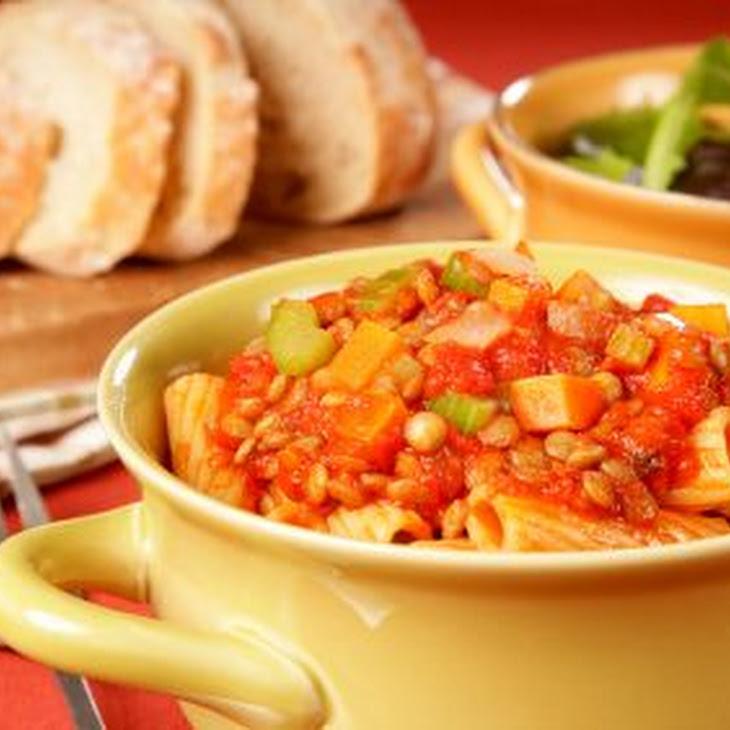 Rustic Tomato Lentil Soup Recipe | Yummly