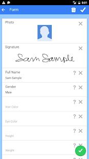 Fake ID Generator APK for Blackberry