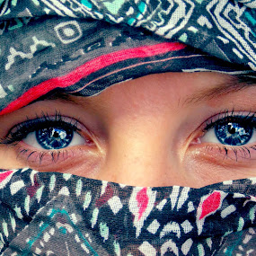 Shelby by Madison Carmichael - People Portraits of Women ( babyblue, eyelashes, blue, pretty, eyes )