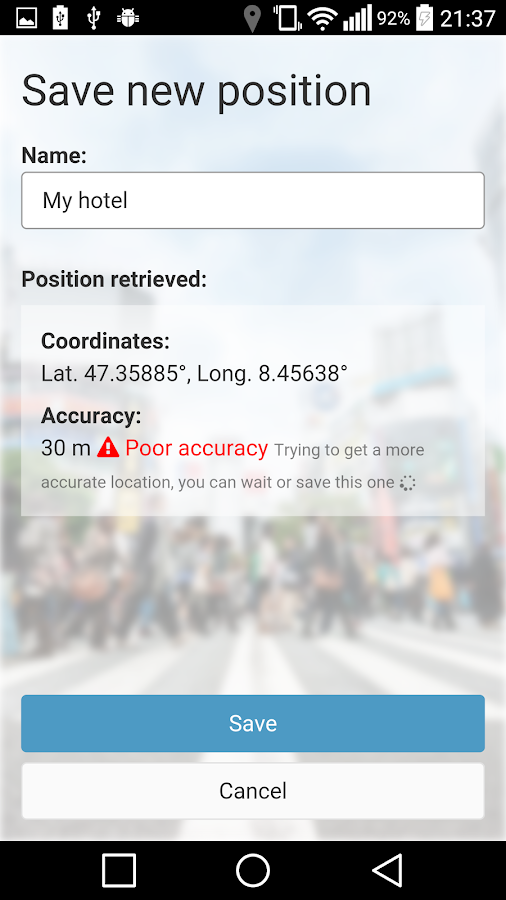 Offline Locator PRO Screenshot 2