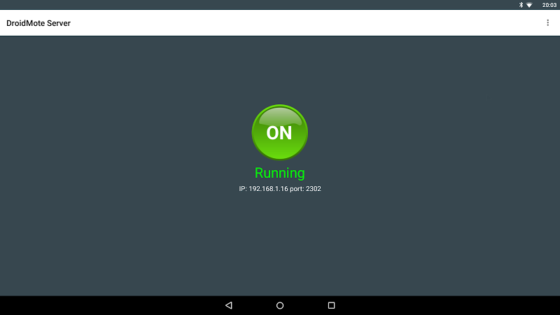 DroidMote Server (root) Screenshot 3