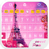 Sweet Paris Emoji Keyboard