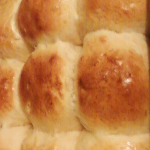 Soft Pillowy Dinner Rolls