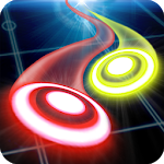Glow Air Hockey Space Icon