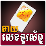 Khmer Phone Number Horoscope Icon