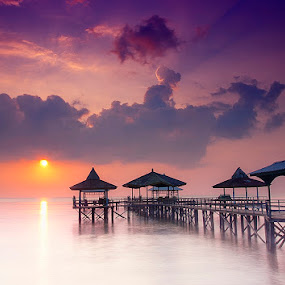 morning has broken by Eko Sumartopo - Landscapes Waterscapes
