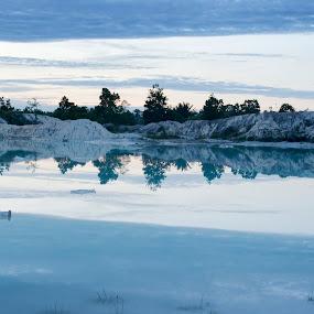 Blue by Jenni Ertanto - Nature Up Close Rock & Stone