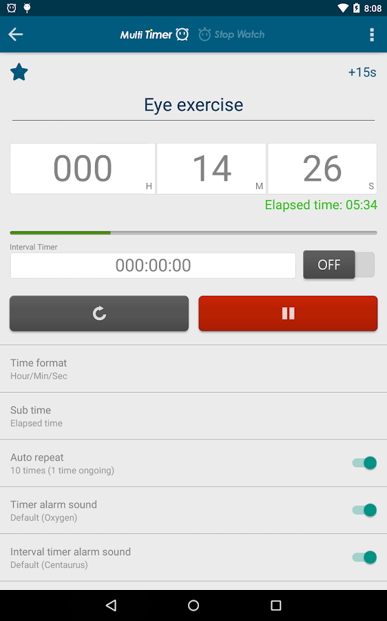 Multi Timer StopWatch Screenshot 17