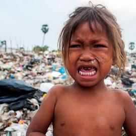 Crying Scavenger  by Wong Sze - Babies & Children Children Candids (  )