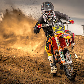 Motocross by Thomas Dilworth - Sports & Fitness Motorsports ( colorado springs, aztec raceway, motocross, moto, racing,  )