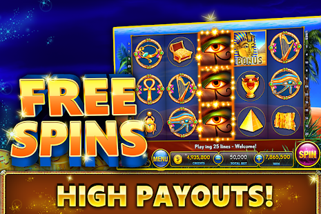 online slot machines pharaoh s