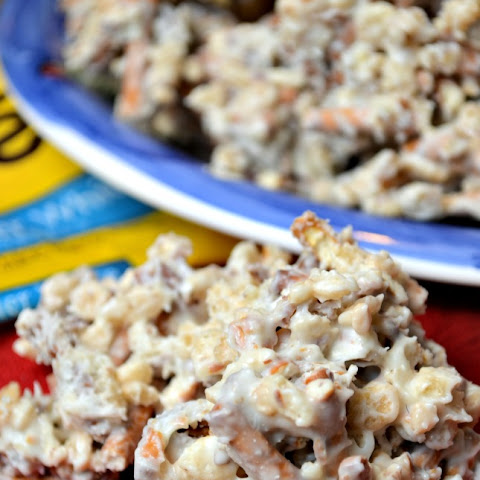 White Chocolate Pretzel Krispies