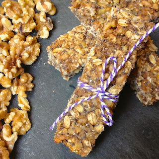 Banana Nut Chia Power Bars