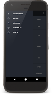 IR Universal TV Remote Screenshot