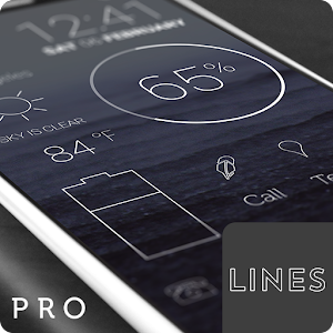Lines - Icon Pack (Pro Version) PC Download / Windows 7.8.10 / MAC