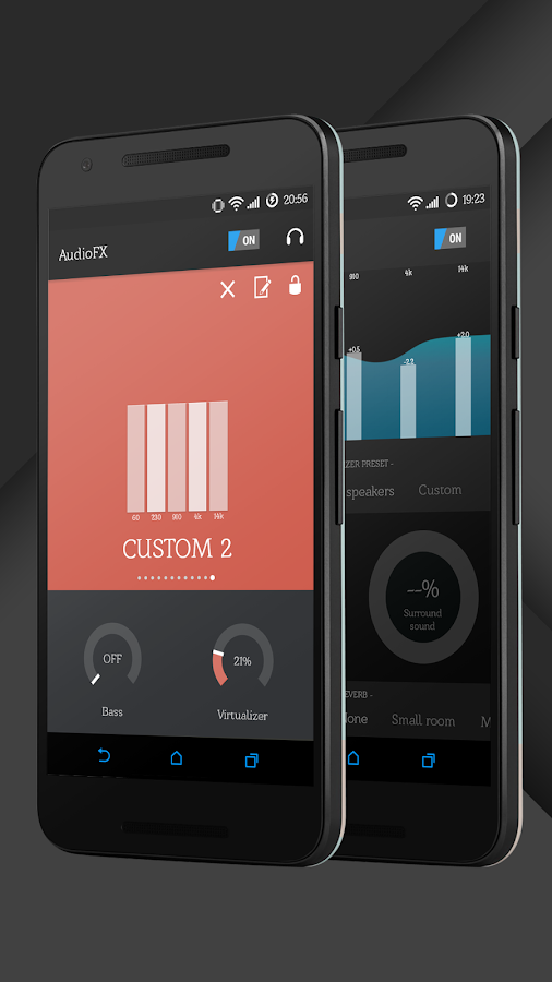 Sense Black/Blue cm13 theme Screenshot 18