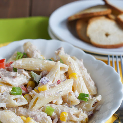 Tuna and Penne Pasta Salad