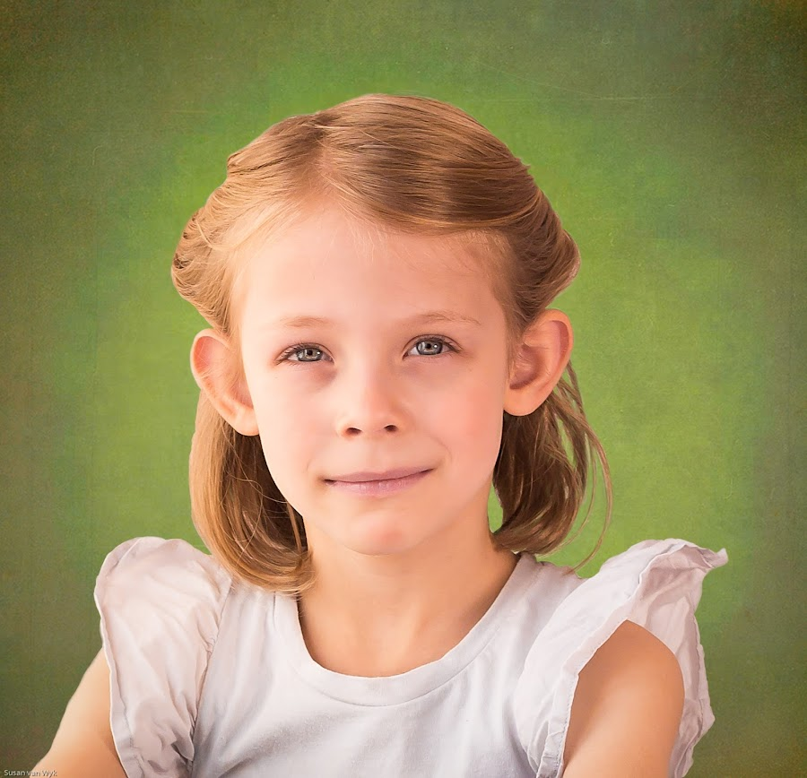 Mieke by Susan Van Wyk - Babies & Children Child Portraits ( girl, yourn, hair, eyes )