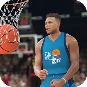 Real basketball experience with hoops, dunks & shoots with basketball 2017 APK Icon