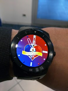 1000CuoriRossoBlu Watch Face - screenshot