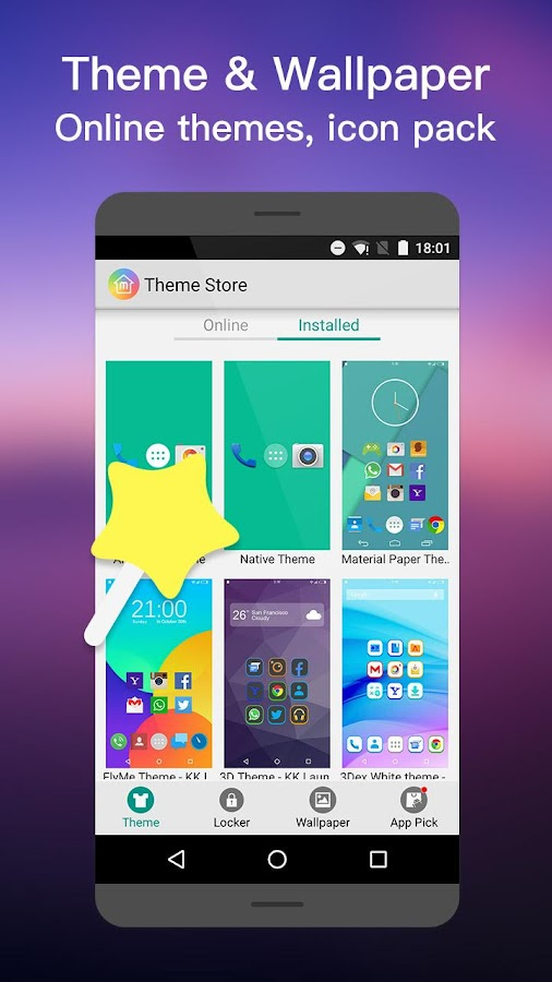 MN Launcher -Marshmalow,Nougat Screenshot 7