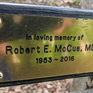 In loving memory of Robert E. McCue, MD 1953-2016