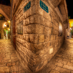 Old Jaffa by Jojo Valerio  - Buildings & Architecture Public & Historical