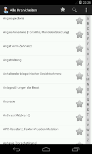 Alle krankheiten (Free) screenshot for Android