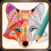 App Foxy Coloring Book Art Studio APK for Kindle