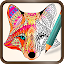 Foxy Coloring Book Art Studio APK for Nokia