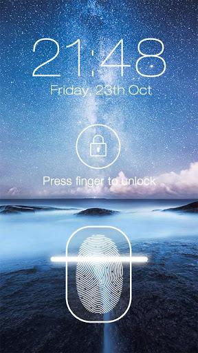 Fingerprint LockScreen Prank For PC