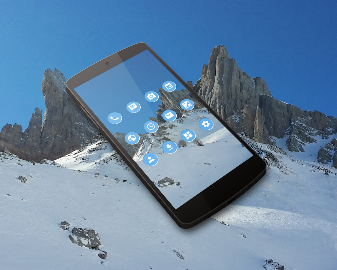 IcyPeak CM13 CM12 Theme Screenshot 3