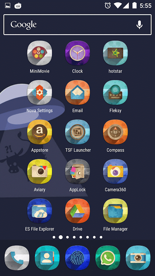 Classic Material Icon Pack Screenshot 2