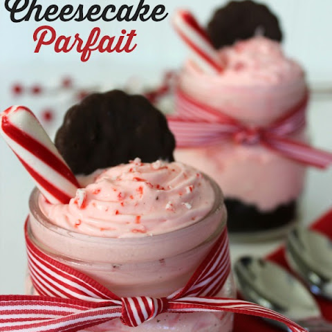 Peppermint Cheesecake Parfait