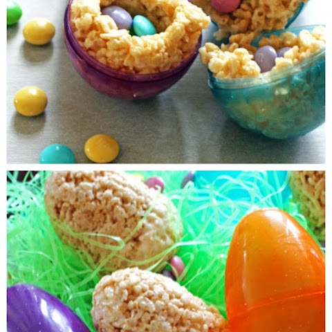 Chocolate Surprise Easter Eggs