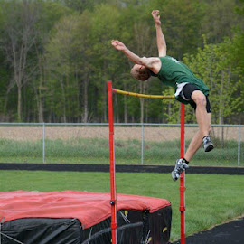 Hesperia High Jump by Jessica Hill - Sports & Fitness Other Sports