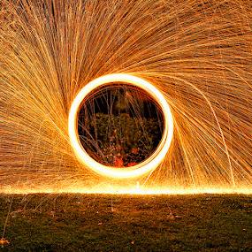 STEEL WOOL by Jony Sasmito - Abstract Fire & Fireworks