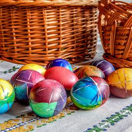 Easter eggs by Џони Кеш - Public Holidays Easter ( holiday, eggs, easter, holy, egg )