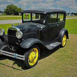 Antique Car by Ron Olivier - Artistic Objects Antiques ( antique car,  )